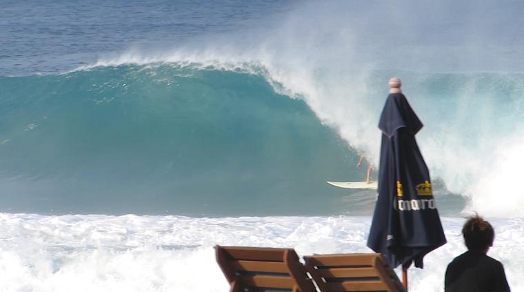 Surfista: Cristiano Bins - Local: Puerto Escondido, México - Cinegrafista: Miguel Lopez