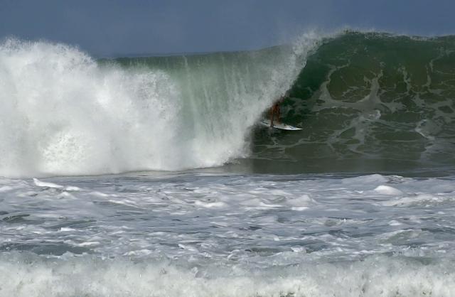 Surfista: Gustavo Borges - Local: Puerto Escondido, México - Cinegrafista: Romulo Costa