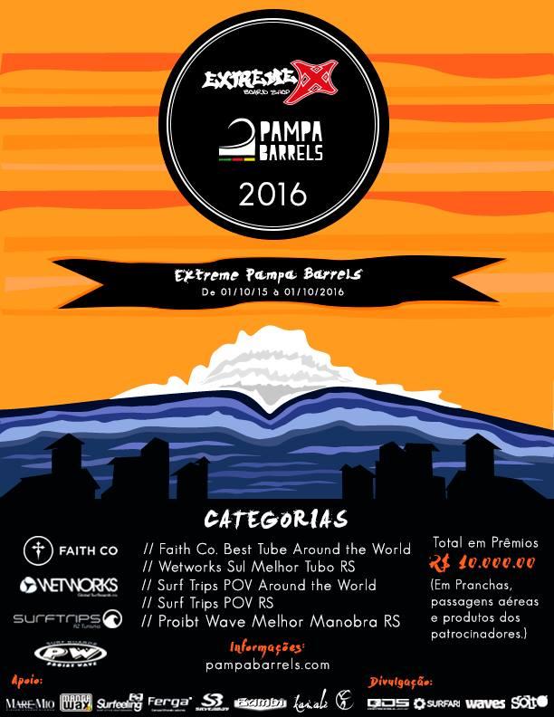 Cartaz Oficial Extreme PampaBarrels 2016