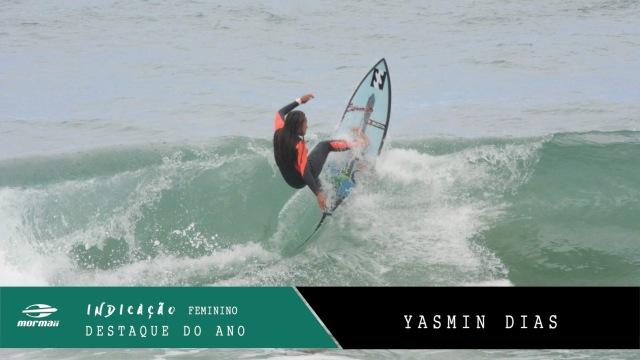 Yasmin Dias Destaque do Ano Fem.